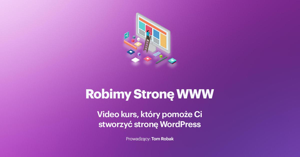 kurs robimy strone www wordpress seo