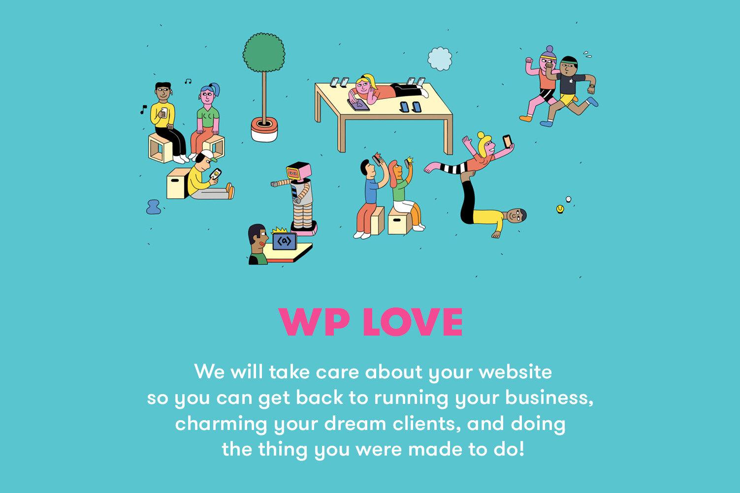wp love uai