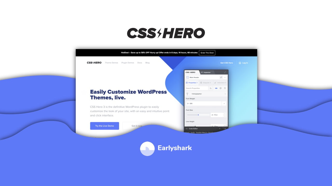 CSS Hero Lifetime Deal